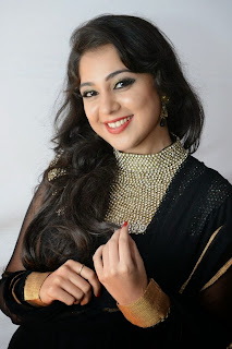 Krithika Picture Gallery in Black Salwar Kameez at Bunny n Cherry Audio Launch Function