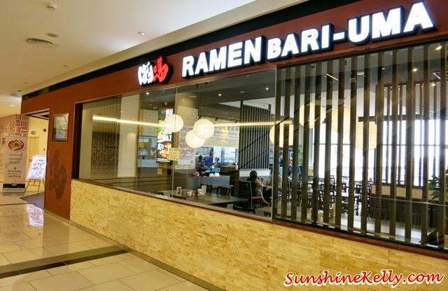 Bari-Uma Ramen Malaysia, Jaya shopping centre, food review