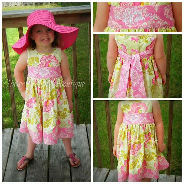 Alyssa Dress Pattern from Little Owl Patterns
