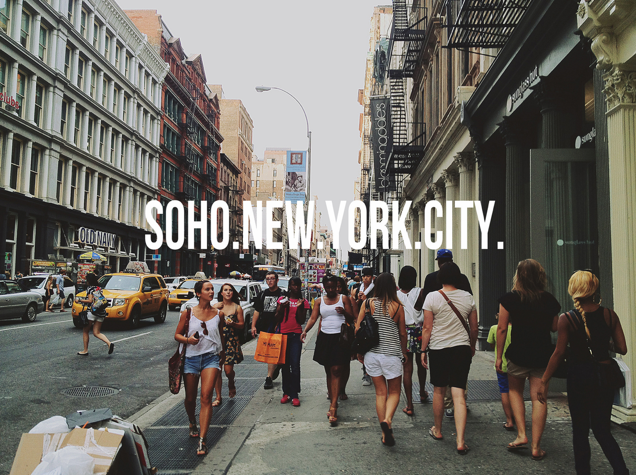 Clothing stores in soho new york