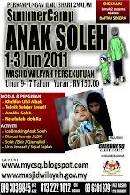 Kem Anak Soleh Cuti Sekolah 1-3 Jun 2011