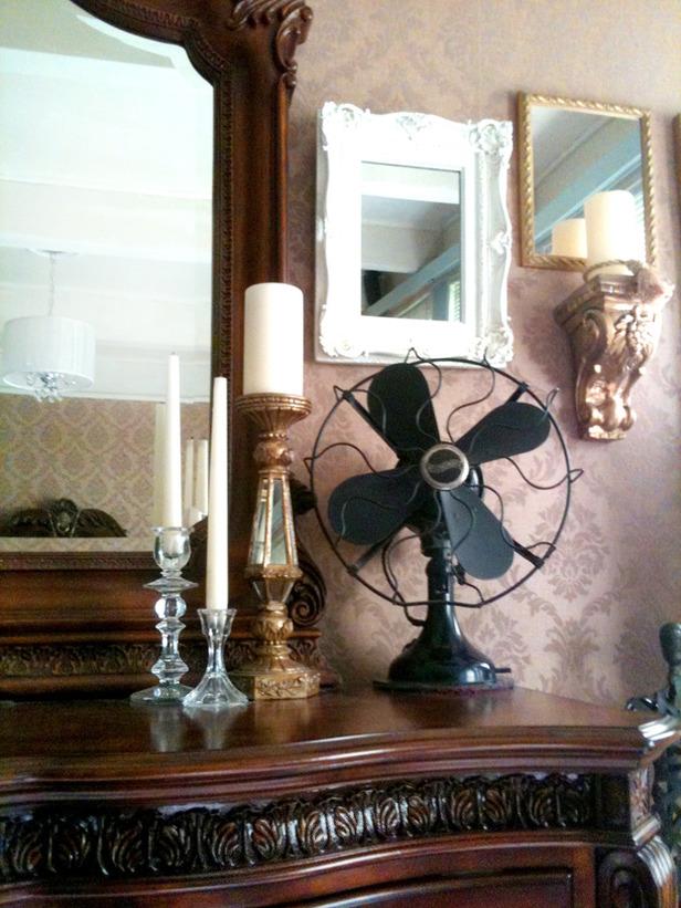 Antique, Yet Chic Bedroom