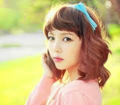 Model Rambut Wanita Sebahu Ala Korea 21