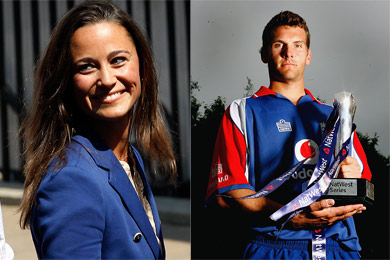 Pippa Middleton y Alex Loudon