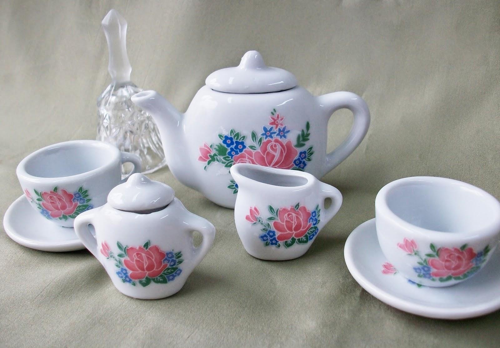 recuerdos cecile juego de porcelana