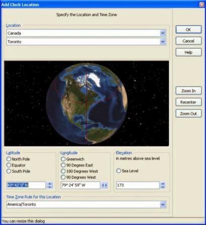 Software Time Zone Master | Cara Mengetahui Waktu di Semua Negara