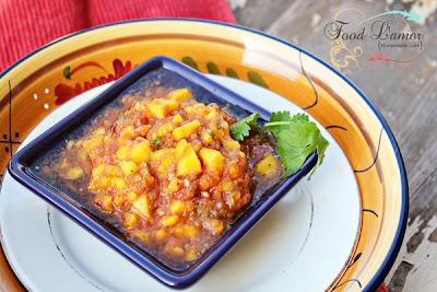 {Homemade} Mango Salsa