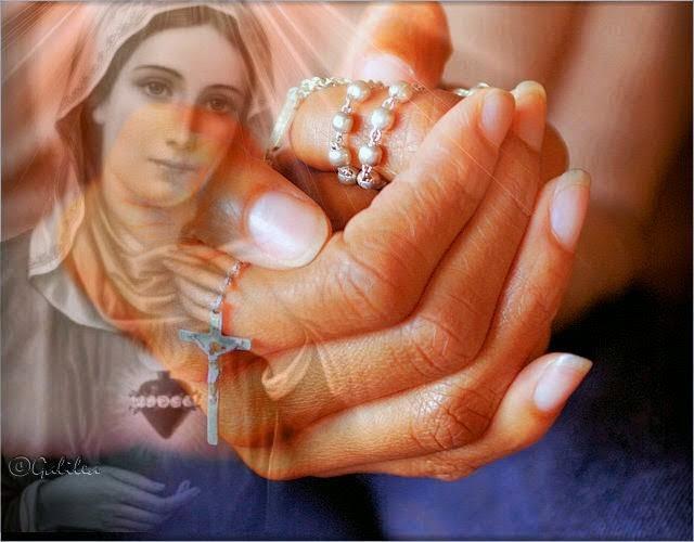 Dios te salve, Reina y Madre de misericordia, vida, dulzura y esperanza nuestra.