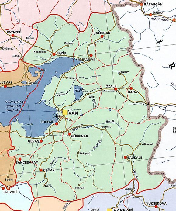 Van Siyasi Haritas�