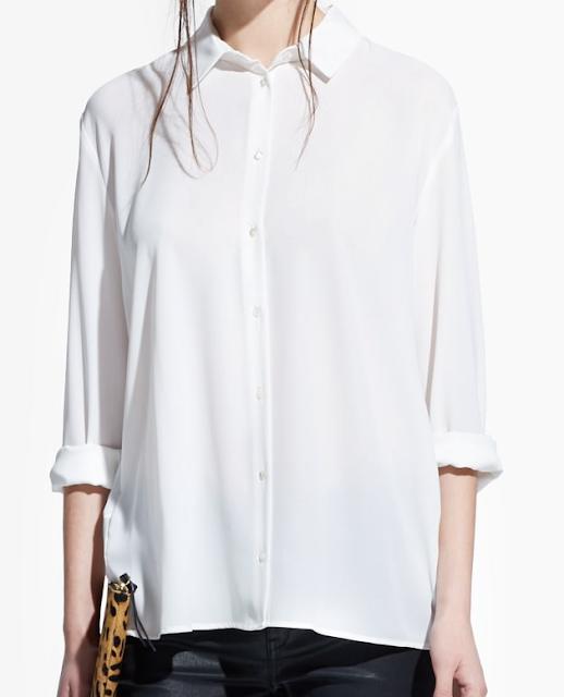 Rebajas SS 2015 fondo de armario camisa blanca