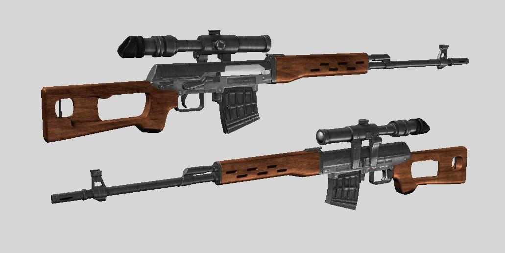 Best Guns Wallpapers Dragunov Sniper Rifle