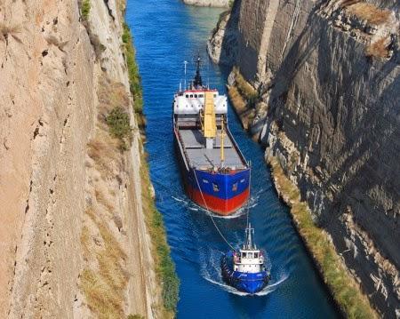 Kanal Korintus Di Yunani