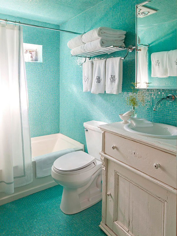 Ideas Baños Sencillos:Small Bathroom Decorating Ideas