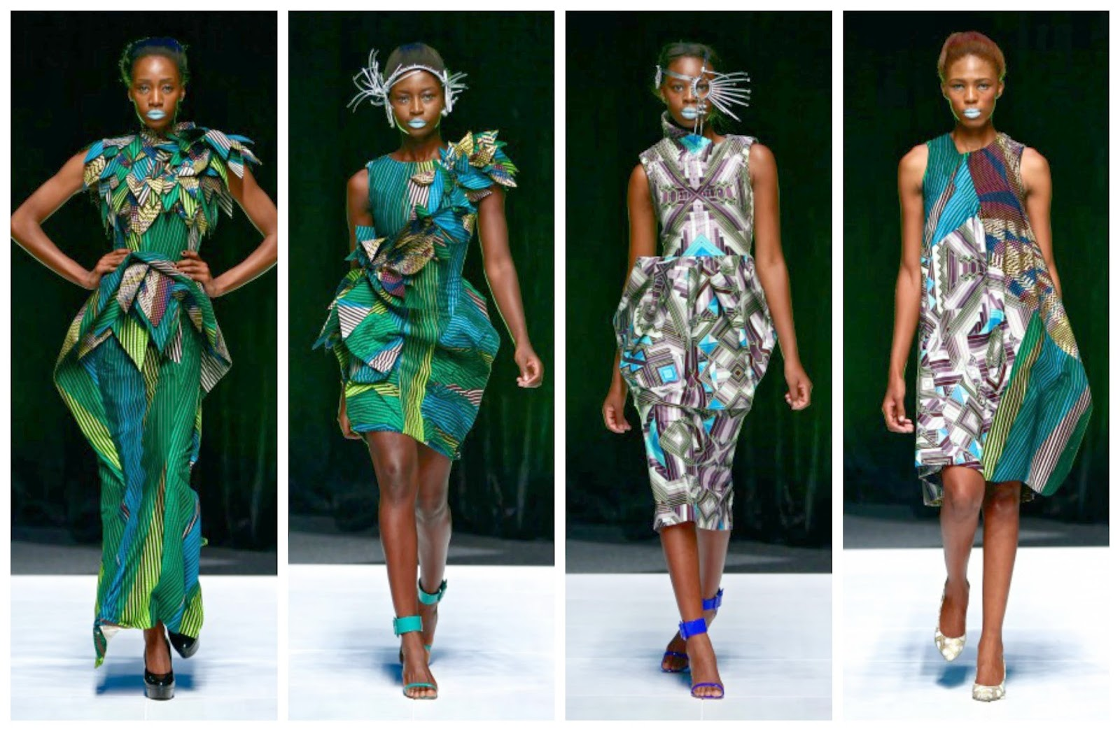 DAVID TLALE COLLECTION AT DESIGN INDABA 2014