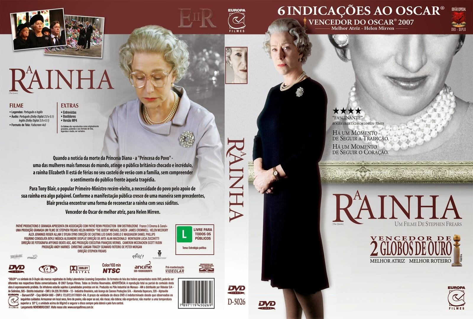 Capa DVD A Rainha