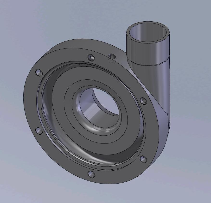 H2O2 Turbopump