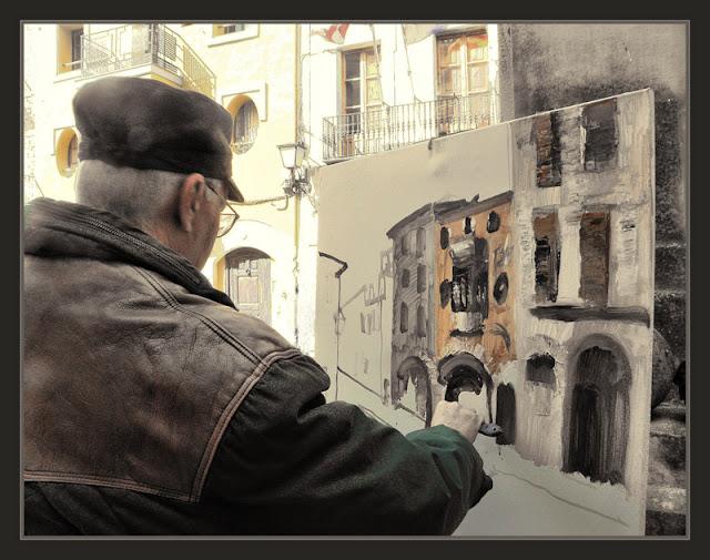 VILALBA DELS ARCS-PINTURA-TARRAGONA-AJUNTAMENT-TERRA ALTA-FOTOS-PINTOR-ERNEST DESCALS-