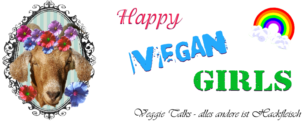 Happy vegan girls