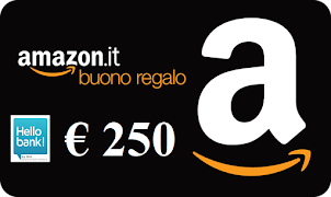 Con HELLO BANK GRATIS un BUONO AMAZON di 250 euro!