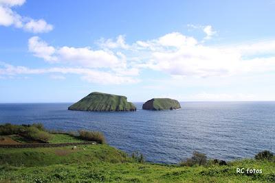 Ilheus das cabras Ilha Terceira