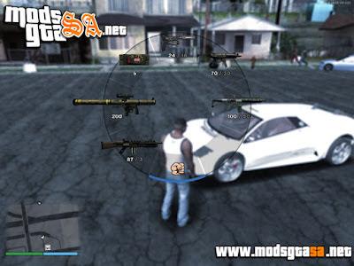 SA - Ícones das Armas em HD