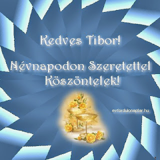 Tibor névnap