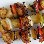 turkey kabobs with cumin and turmeric