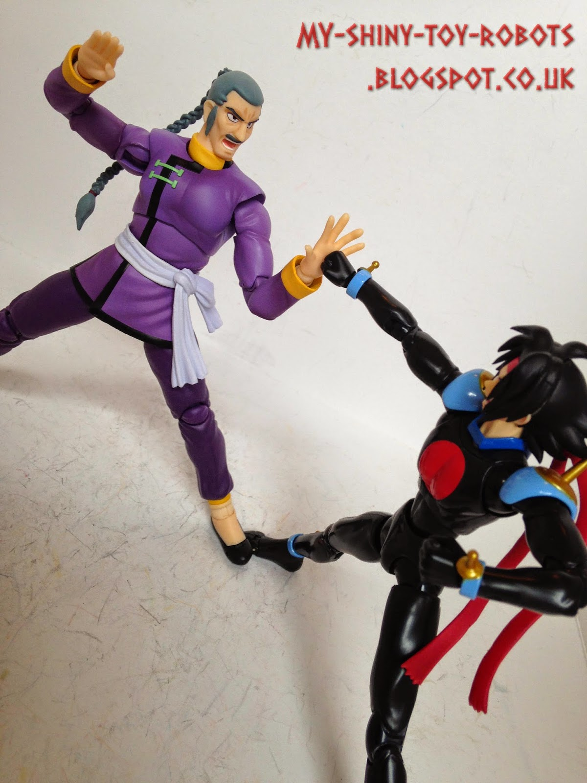 My shiny toy robots toybox review s h figuarts master asia for Domon vs master asia