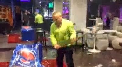 Bar em Braga destroí maquinas da Pepsi