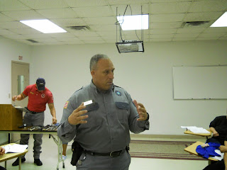 Capt. William Wheat of the TDCJ Beto Academy.