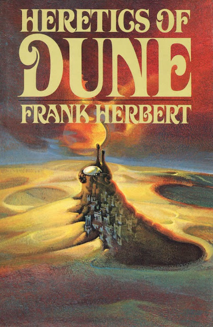 Book Cover Series S : Ski ffy heretics of dune