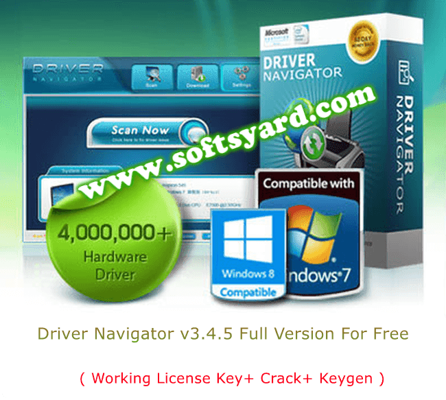 Driver Navigator v3.4.5 Full Version Free Download