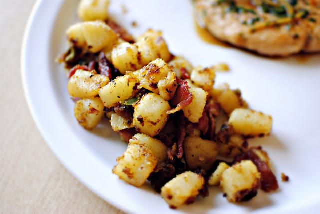 Bacon Potato Hash l SimplyScratch.com