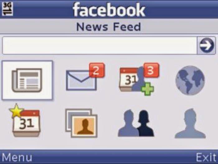 فيس بوك موبايل