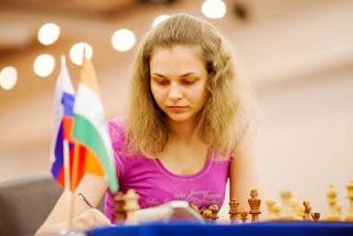 Echecs à Kazan: la GMF slovène Anna Muzychuk (2598) - Photo © Fide