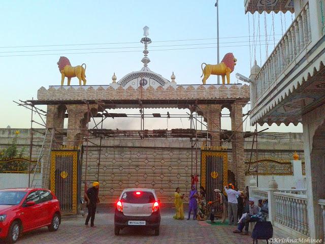 Image: Dhule Gurudwara main entrance gate from inside
