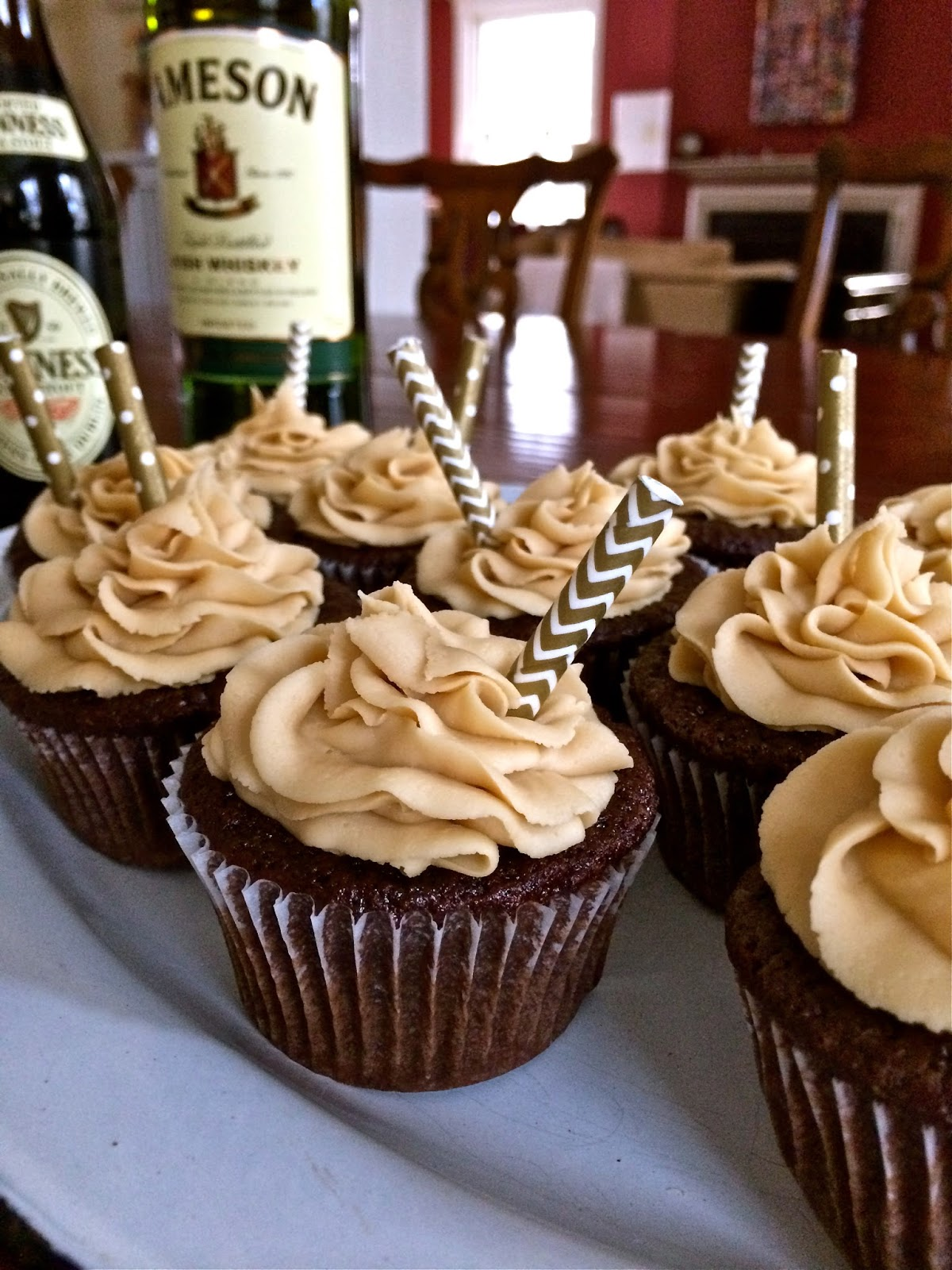 Challenger Sweets: Guinness Chocolate Cupcakes with ...