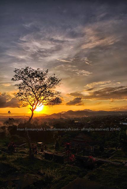 Senja di Kota Sukabumi