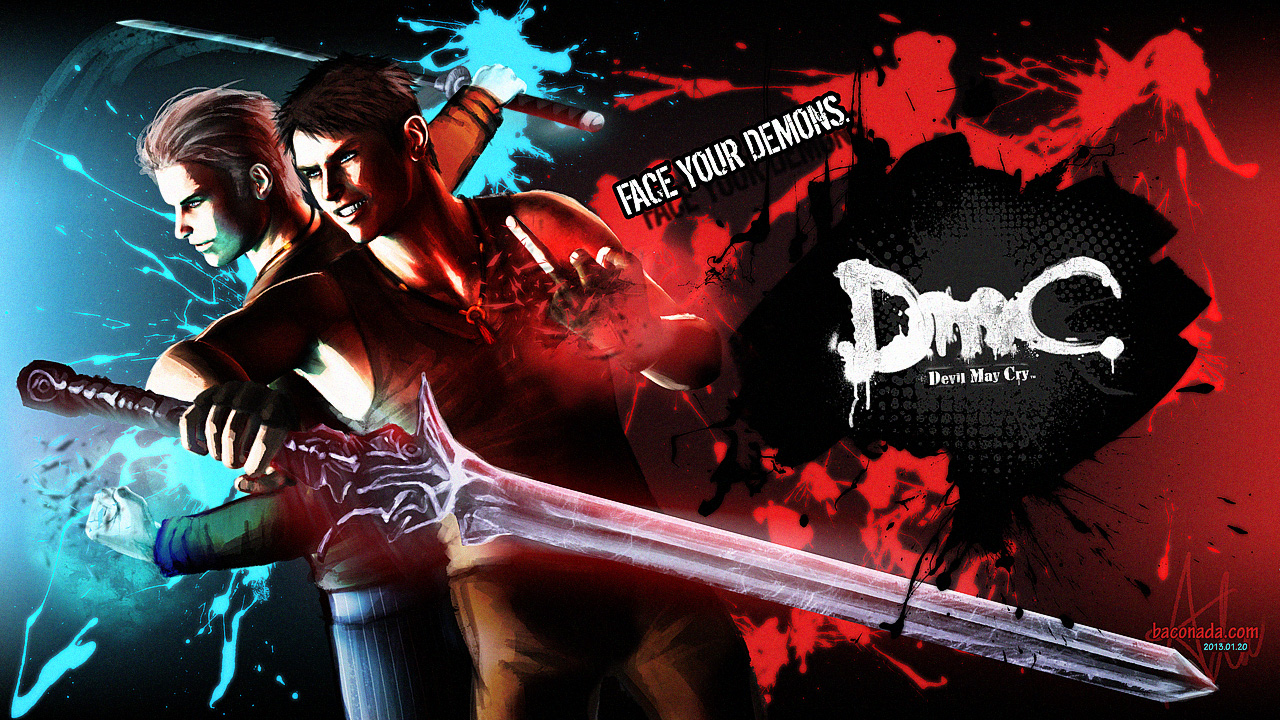 Devil May Cry 5 2013 PC Keygen&Crack&Patch new version