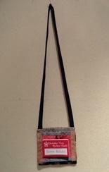 name tag purse
