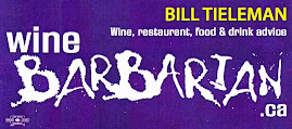 Wine Barbarian - Bill Tieleman's wine & food blog