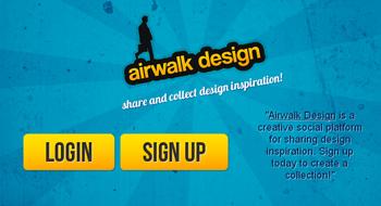 Airwalk Design la red social para diseñadores - www.dominioblogger.com