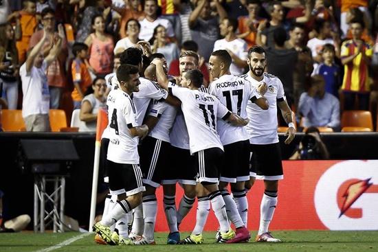 Valencia 3 x 1 Monaco - Champions League 2015/16