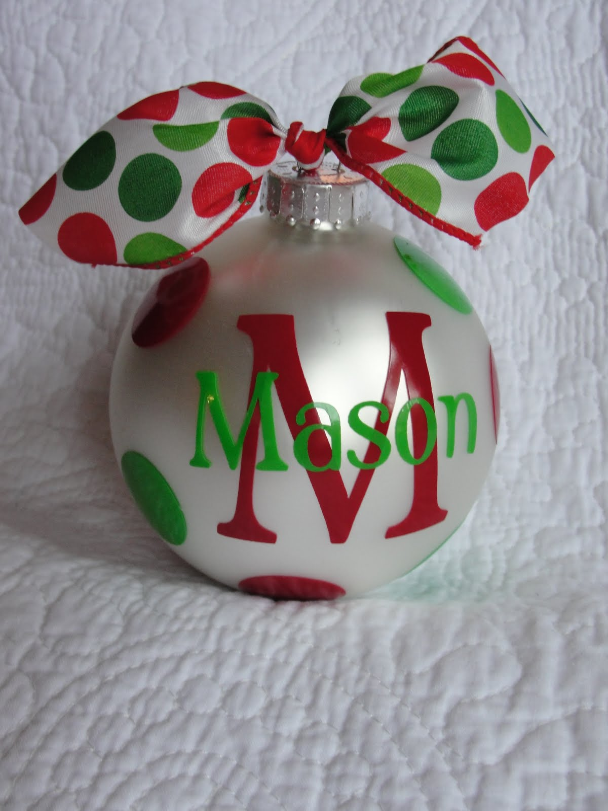 Rantin 39 ravin 39 homemade ornaments for Personalized christmas photo ornaments