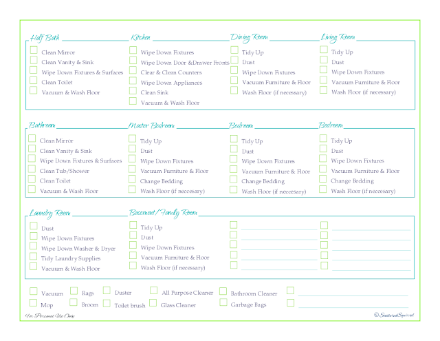 weekly cleaning schedule, free printable, home management binder, cleaning
