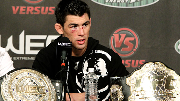 ufc wec mma bantamweight champ fighter dominick cruz picture image