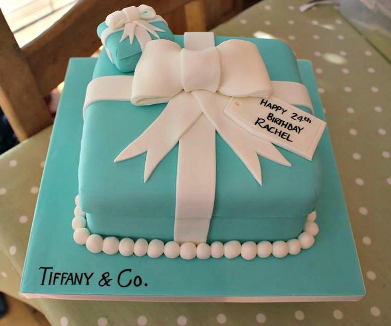 tiffany and co ring birthday cake