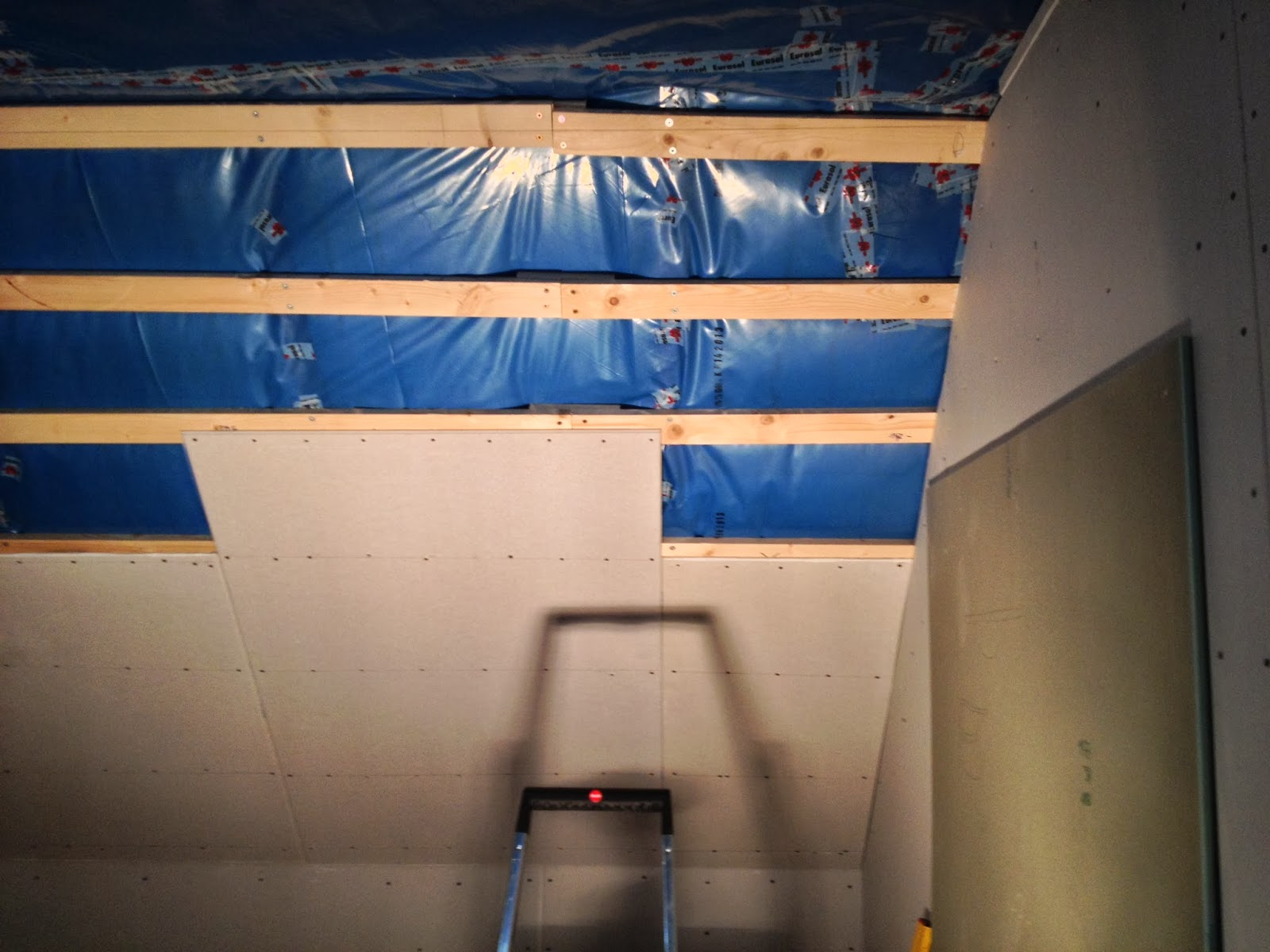 Sechseckwanne dachschräge  Bautagebuch Hassenroth: Januar 2014