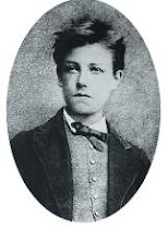 Arthur Rimbaud.Célèbres français  poètes. Híres francia költők.