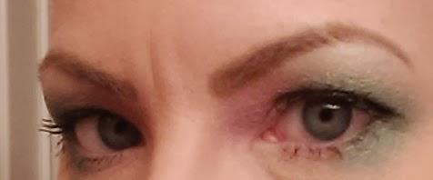Megan Fox Eyebrows Stencil